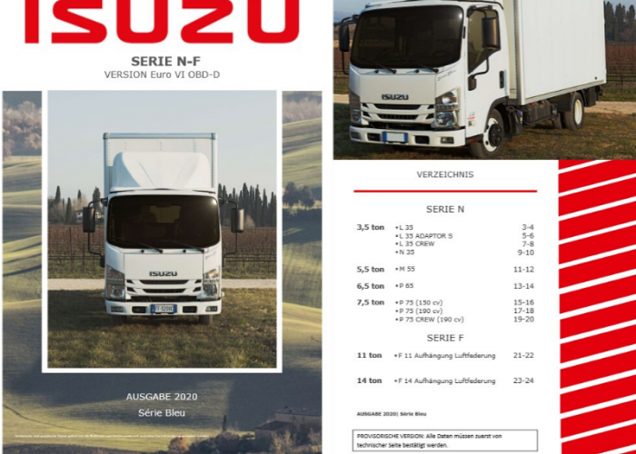 Katalóg Produktu Řada N - F Verze Euro VI OBD-D
